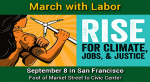 RSVP to RISE for Climate, Jobs, & Justice September 8th in SF