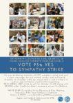 95% YES Vote to Sympathy Strike!