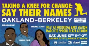 Flyer for Action on June 13 at 11am meeting at Rockridge BART Station