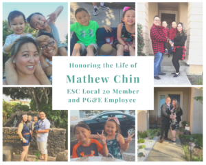 Photo collage of Mathew Chin and Family