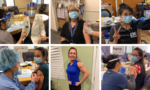 ESC Local 20 Members on the Front Lines Receive COVID-19 Vaccine