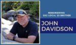 In Remembrance of Longtime ESC Steward, John Davidson