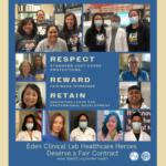 Eden Clinical Lab Healthcare Heroes Deserve a Fair Contract!